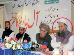 Imran Khan S Minister Shares Stage With Terrorist Hafiz Saeed Pakistan