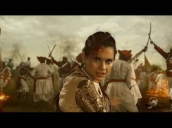 Kangana Ranaut Aces Fierce Warrior Queen Act Manikarnika Teaser