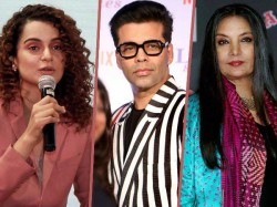 Kangana Ranaut Questions Karan Johar Shabana Azmi S Silence