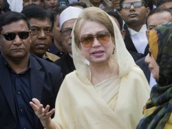 Former Bangladesh Pm Khaleda Zia Sentenced 7 Years Jail Corruption Case