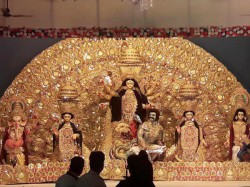Lucknow Celebrates Durga Puja With The Colours The Festival