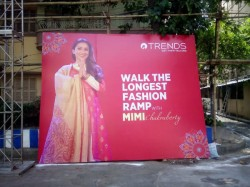 Samajsebi Sangha Is Making Longest Fashion Ramp Durga Puja