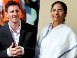 Football Prince Lionel Messi Has Sent His Jersey Mamata Banerjee