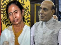 Home Minister Rajnath Singh Praises Cm Mamata Banerjee After Meeting