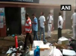Supply Medicine The Patients Kolkata Medical College Question Due To Fire