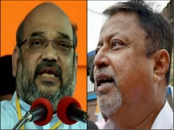 Amit Shah Appoints Mukul Roy As The Connector State Bjp Election Committee