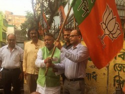 Bjp Leader Mukul Roy Creates Defection Doctor S Cell