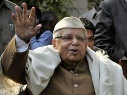 Narayan Dutt Tiwari Congress Veteran Former Uttar Pradesh Cm Dies