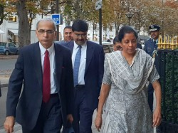 Defence Minister Nirmala Sitharaman Holds Talks With France Amid Rafale Deal Controversy