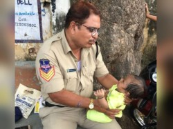 Telangana Cop S Heart Warming Solution A Mother S Dilemma Goes Viral