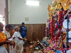 Pranab Mukherjee Celebrates Durga Puja Kirnahar
