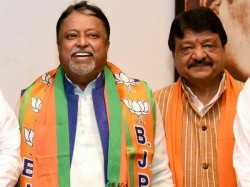 Mukul Roy Kailsh Vijayvargiya Have Played 2 Crore Gambling To End Tmc