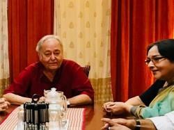 Soumitra Chatterjee Mamata Shankar Play Amit Labanya Sesher Galpo