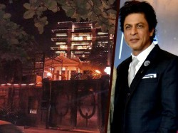 Shahrukh Khan S 53rd Birthday Celebration Prep Begins Mannat Gets All Decked Up In Lights