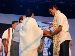 Mamata Banerjee S Sikha Ratna Awarded Teacher Accused On Corruption Charges