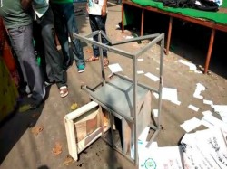 Tmc Councillor Uttarpara Kotrung Municipality Allrgedly Broke Puja Pandal