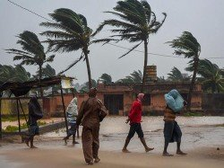 Cyclone Titly Hits Effects Now On Nandigram West Bengal