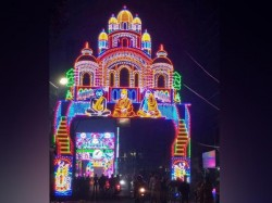 Jagadhdhatri Puja Celebration At Chandannagore See The Famous Idols And Lightings