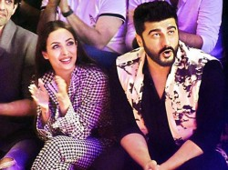 Arjun Kapoor Shields Malaika Arora From Paparazzi As They Head Out For A Dinner Date See Pics