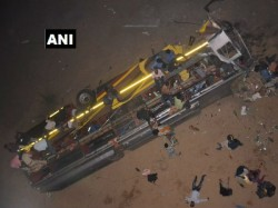 Bus Fell River Bed Odisha Caused 7 Dead
