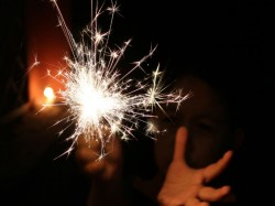 Young Boy Sets Off Fire Cracker 3 Years Old Girl Mouth