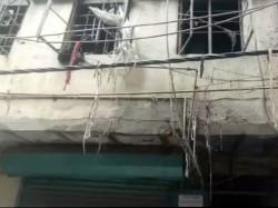 Four Dead Fire At House Near Delhi S Karol Bagh
