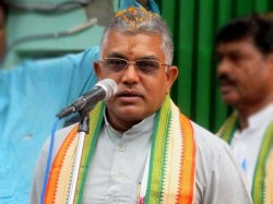 Bjp Cadres Purulia Pitches Slogan Against State President Dilip Ghosh