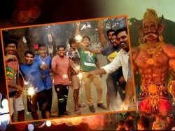 Celebration On Diwali Narak Charurthi Started India Here Are The Images