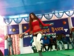 Vulgar Dance Performed Domkal College Program West Bengal