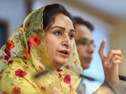 Sidhu Has Become Pakistani Agent Says Harsimrat Kaur Badal
