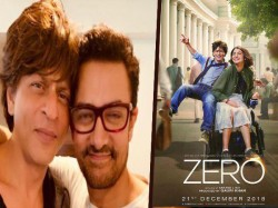 Amir Khan Praises Zero Trailer Posters Featuring Shahrukh Khan Is Out