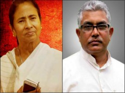 Bjp State President Dilip Ghosh Criticizes Mamata Banerjee As Mad Elephant