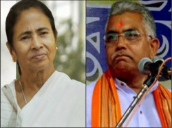 Dilip Ghosh Attacks Tmc That Bjp Now On Stage Loksabha Election
