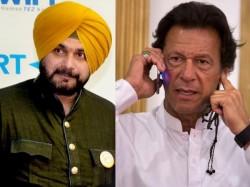 Navjyot Singh Sidhu Again Goes Pakistan Call Imran Khan