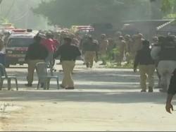 Terrorists Attack On Chinese Consulate Karachi Pakistan