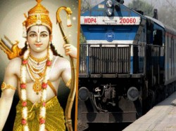 Shri Ramayana Express Train Indian Railways Retraces The Epic Journey Of Lord Rama