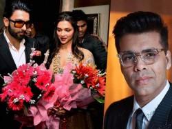 Karan Johar Leads Bollywood Wishes Deepika Ranveer