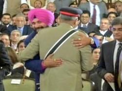 Navjot Singh Sidhu Meet Pakistan Army Chief Bajwa Again Kartarpur Ceremony