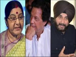 External Minister Sushma Swaraj Does Not Go Pakistan On Calling Of Imran Khan