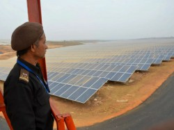 Mw Solar Power Plant Be Installed Salboni West Midnapore
