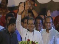 Sri Lanka Parliament Votes Against Mahinda Rajapaksa