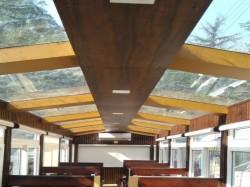 Kalka Shimla Rail Gets Its First First Glass Roof Vistadome Coach