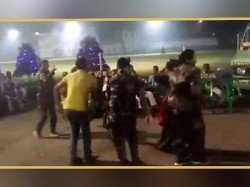 Lady Police Uniform Involve Dancing Howrah Celebrate Diwali Goes Viral Social Media