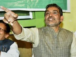 Rlsp President Upendra Kushwaha May Quit Nda Today