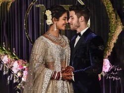 Narendra Modi Is Clicked Priyanka Nick S Reception Delhi