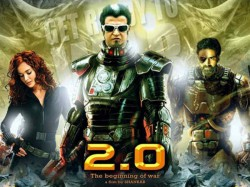 Rajinikanth Akshay Kumar Starrer 2 0 Enters 100 Crore Club Of Day