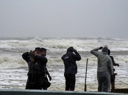 Cyclonic Storm Phethai Likely Make Landfall Coastal Andhra On Monday Evening