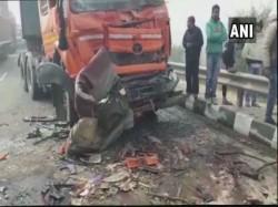 Killed 50 Vehicle Pile Up Dense Fog Haryana