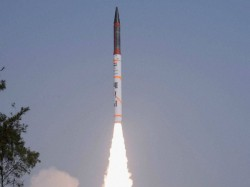 Nuclear Capable Long Range Ballistic Missile Agni Iv Successfully Test Fired