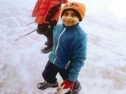 An Eight Years Old Boy Hyderabad Successfully Climbs On Mountain Australia